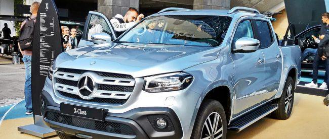 Har du set den nye Mercedes X-klasse?